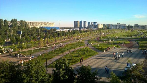 Волгоград поразил иностранных болельщиков жарой