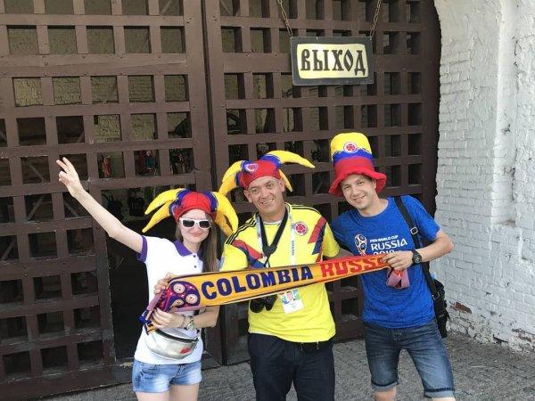 В Ульяновске колумбийскому болельщику вернули потерянный паспорт